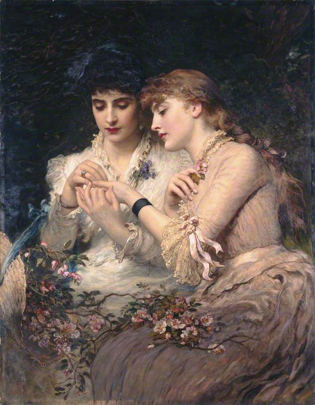 A Thorn amidst the Roses, James Sant (1820–1916)