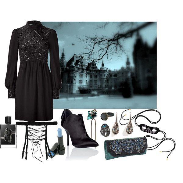 spooky chateau
