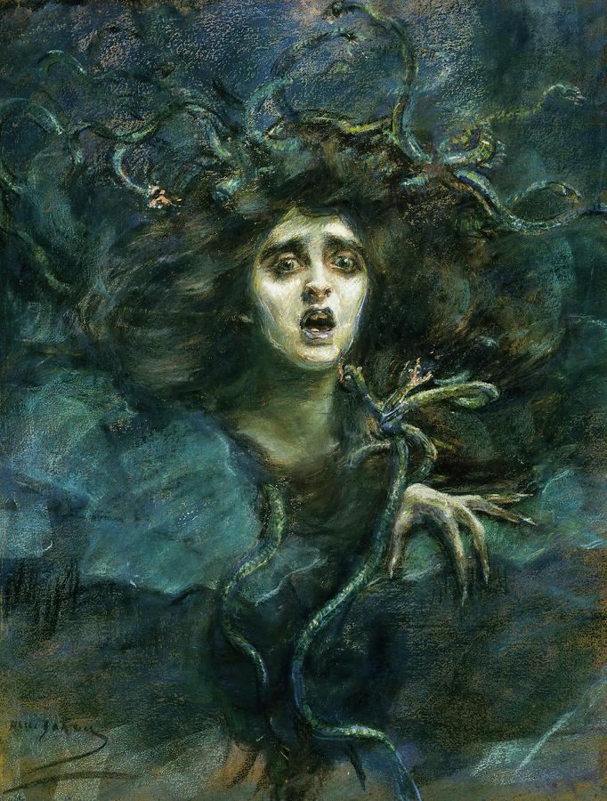 Medusa, 1892. Alice Pike Barney