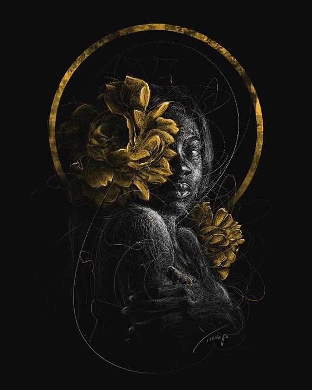 Blossom 1 by Yirenkyi Asante