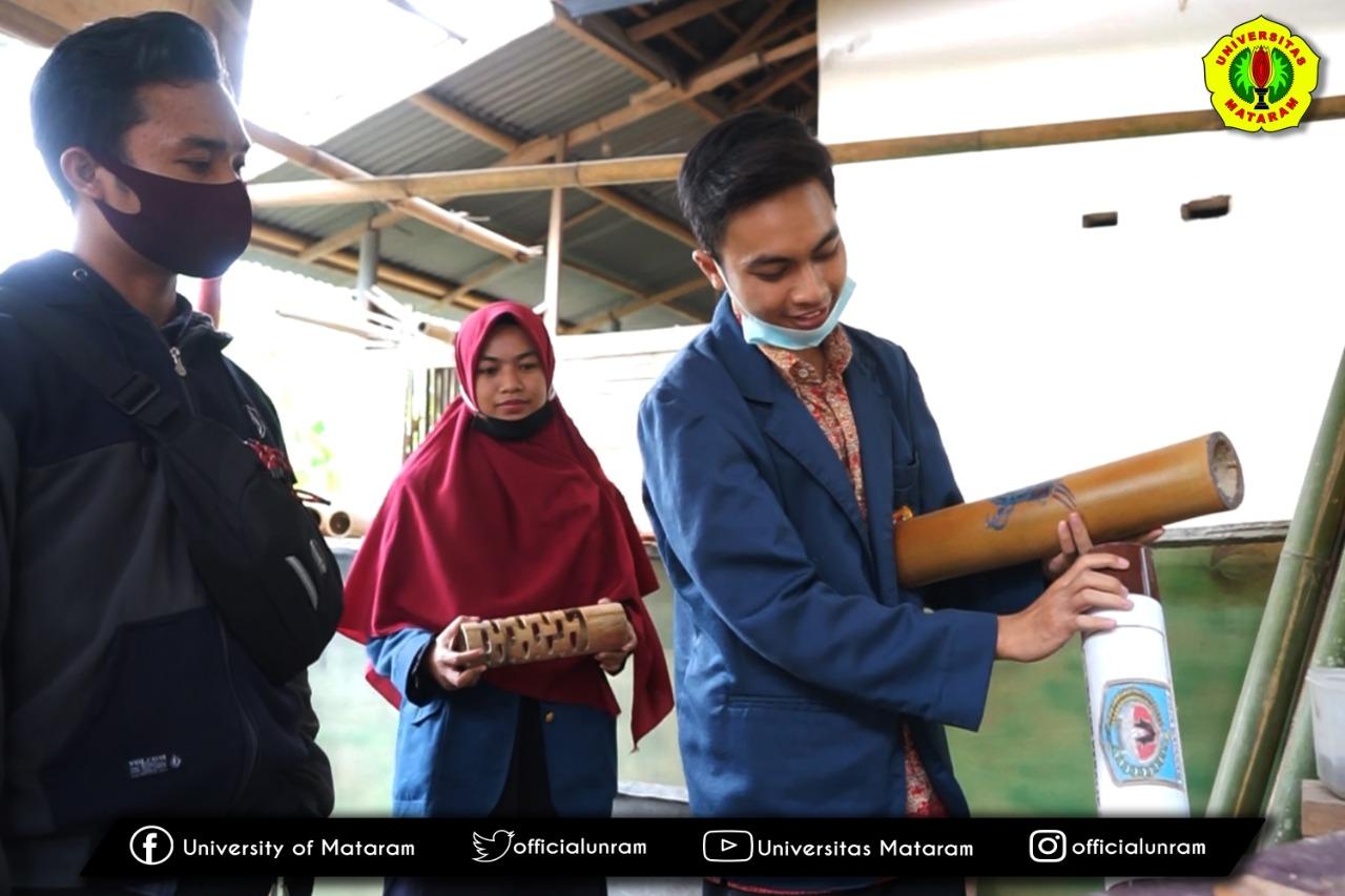 UKM MT Al-Kahfi Unram Berdayakan Remaja Milenial Desa Suka Makmur Gerung