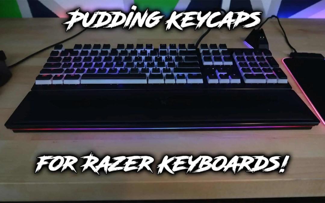 Pudding Keycaps for Razer Keyboards