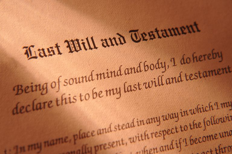 Last Will and Testament of GOD ALMIGHTY