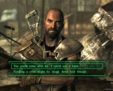 The Fallout 3 Journal: Day 6