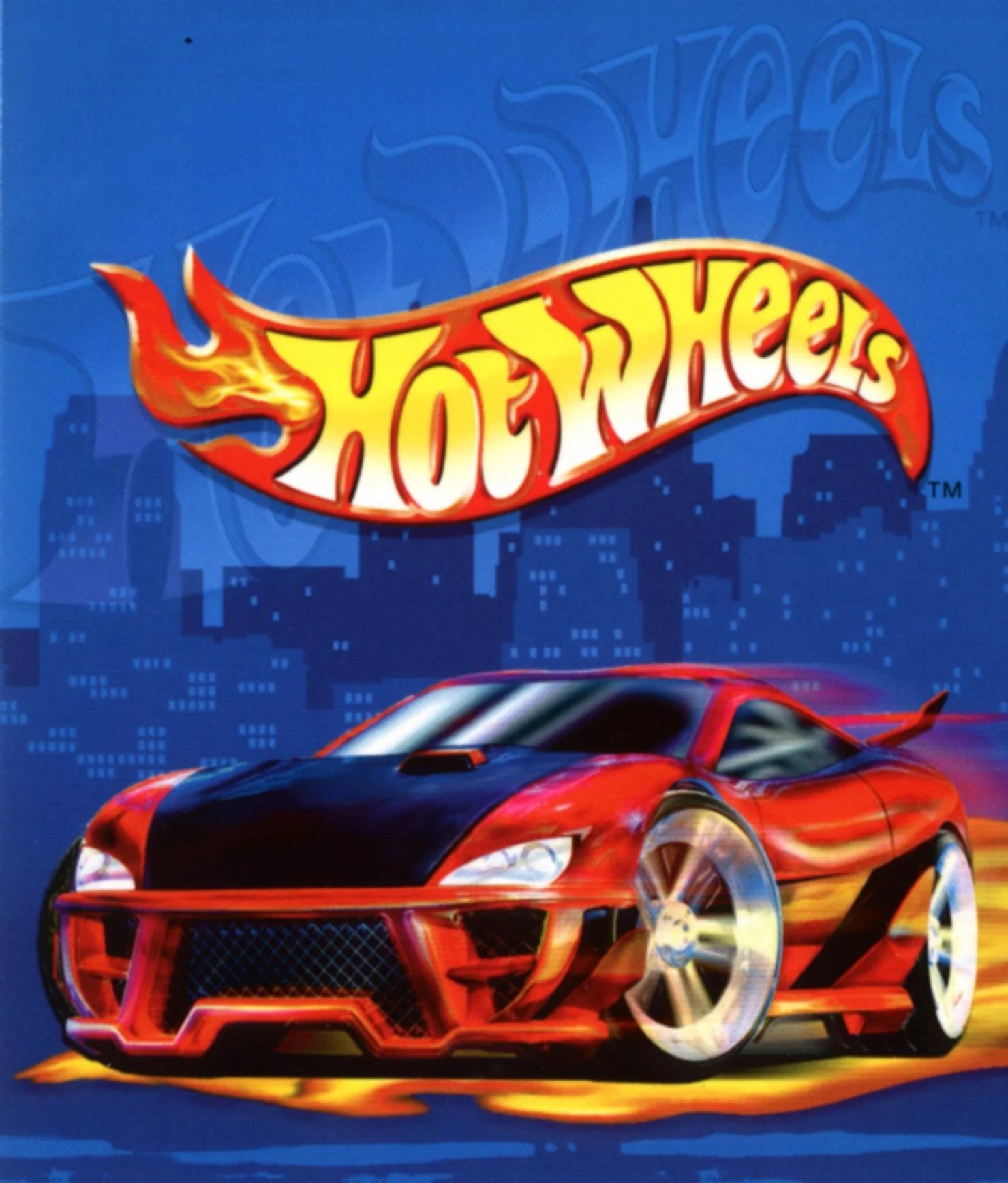 Bolo Carro Hot Wheels - Hot Wheels Cake
