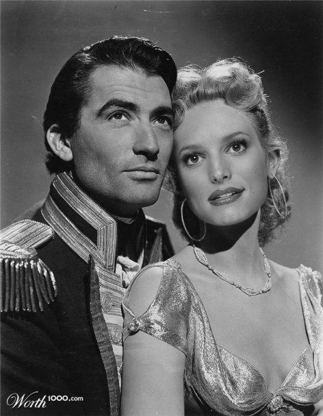 Gregory Peck et Jessica Simpson