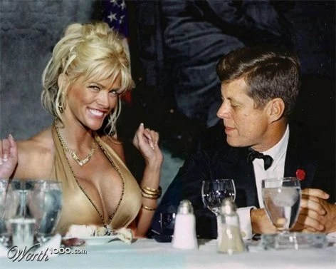 Anna Nicole Smith et Kennedy