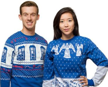 Doctor Who Holiday Sweaters are a Must Have for Christmas!