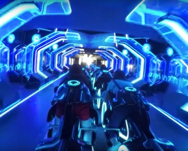 Shanghai Disneyland's TRON Roller Coaster Looks Pretty Intense