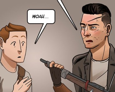 A Fallout Subquest 6: When You Have To Give Your Sidekick A Weapon (Comic)