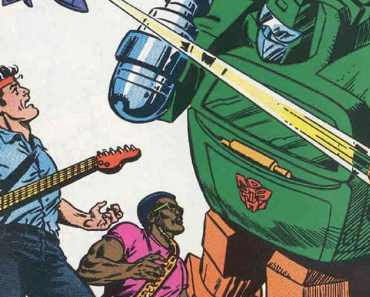 The Time Bruce Springsteen and The Transformers Teamed Up