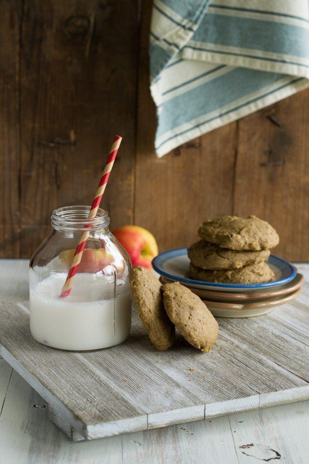 Vegan Apple Butter Cookies by An Unrefined Vegan