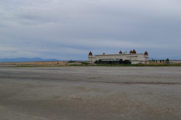 Saltair Pavilion and Beach