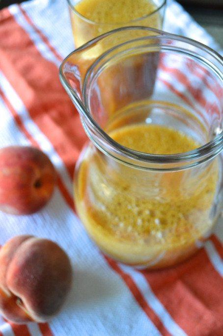 Peach Black Tea An Unrefined Vegan