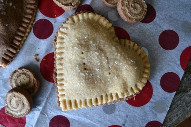 Vegan Chocolate Cherry Ricotta Hand Pies by An Unrefined Vegan