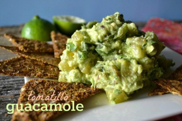 tomatillo guacamole An Unrefined Vegan