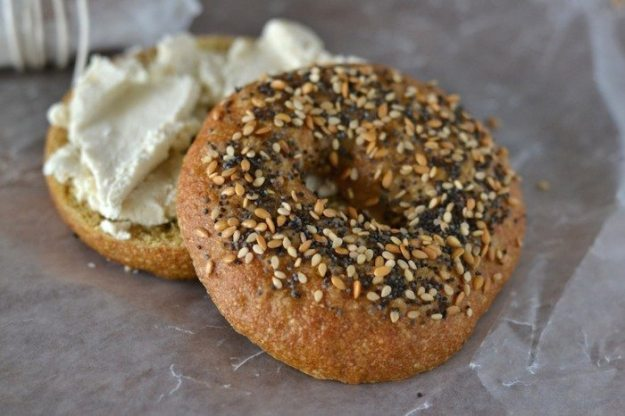 Pretzel Roll Bagels An Unrefined Vegan