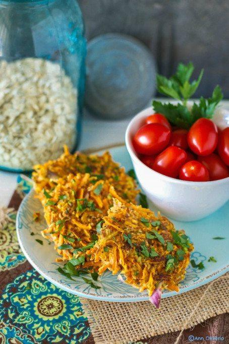 Veggie Fritters An Unrefined Vegan