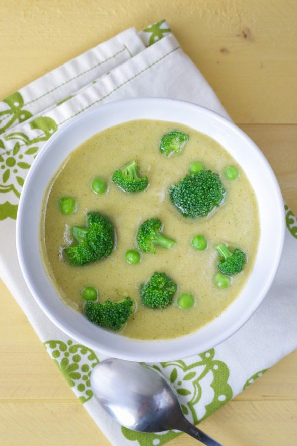 Broccoli Cream Soup An Unrefined Vegan