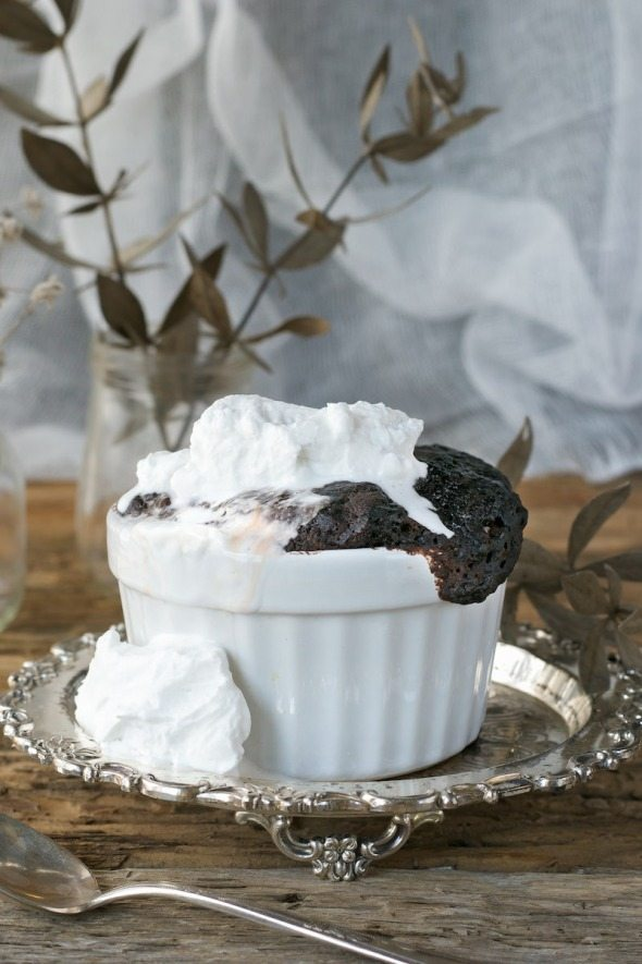 Brownie Pudding Cakelettes An Unrefined Vegan
