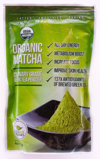 Kiss Me Organics Matcha Bag
