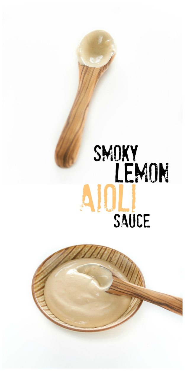 Smoky Lemon Aioli Sauce An Unrefined Vegan