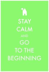 Stay Calm Beginning Green