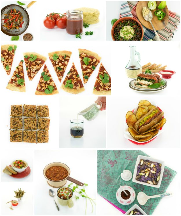 The Easy Vegan Cookbook Collage