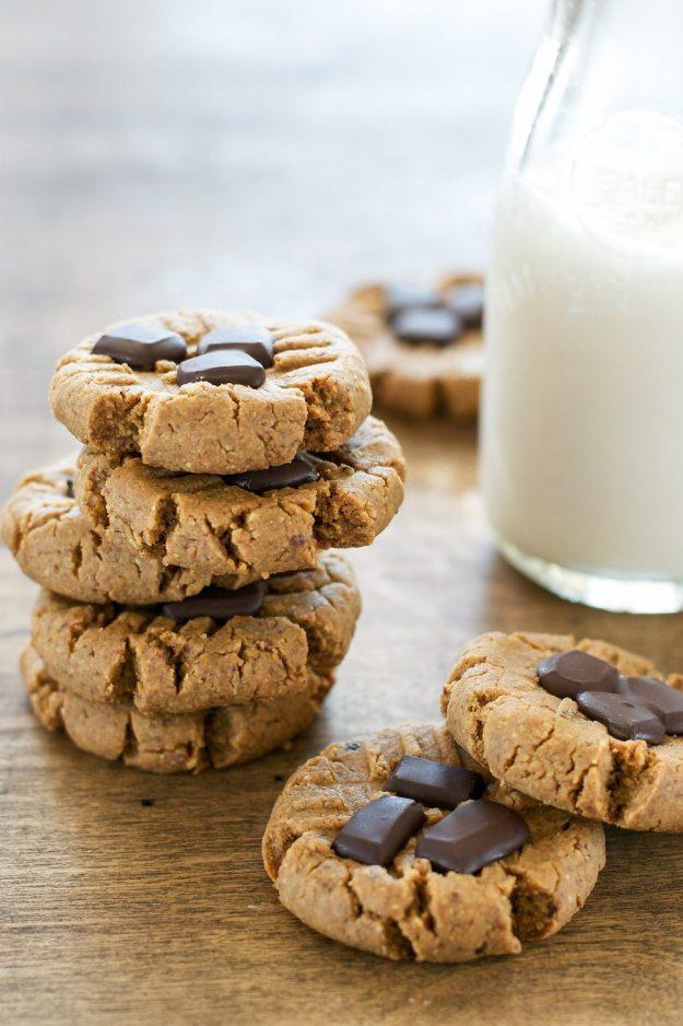 Flourless Peanut Butter Cookies Day Cookies An Unrefined Vegan