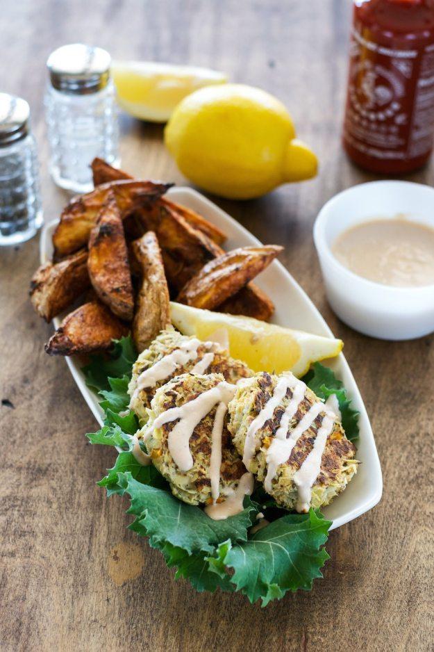 "Artichoke ""Crab"" Cakes An Unrefined Vegan"