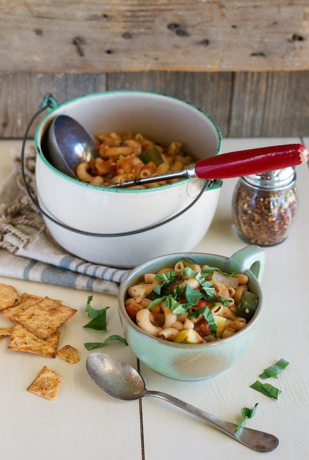 Vegan Cowboy Pasta from The Abundance Diet Photo by Annie Oliverio