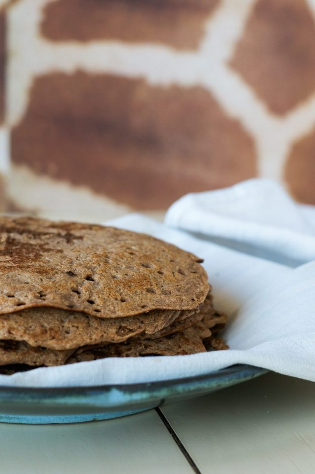 Quick Teff Crepes from Teff Love by An Unrefined Vegan