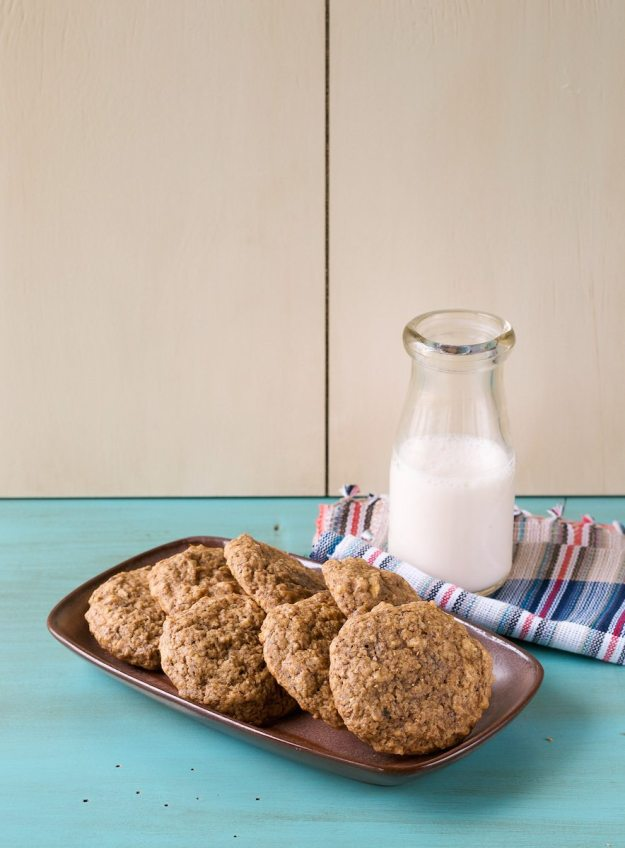 Sugar-free Banana Bread Cookies from An Unrefined Vegan
