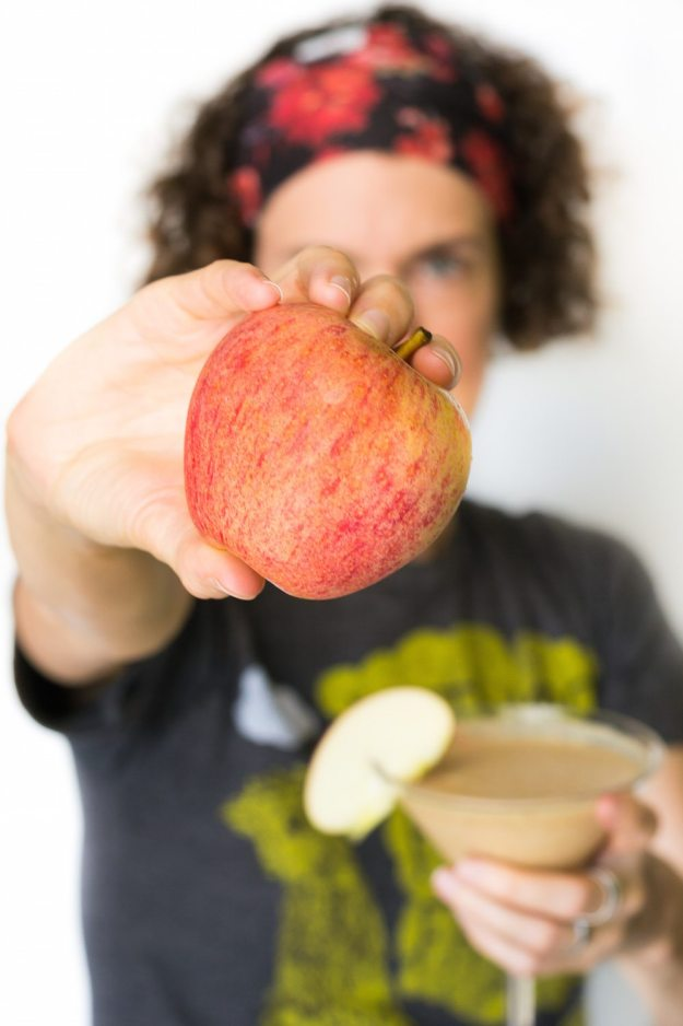 Apple PB Smoothie by An Unrefined Smoothie