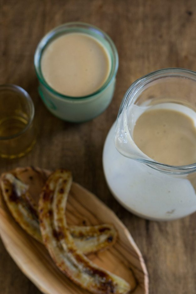 Vegan Caramelized Banana & Rum Shake by An Unrefined Vegan
