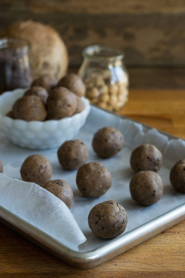 Cookie Dough Truffles Photo by An Unrefined Vegan