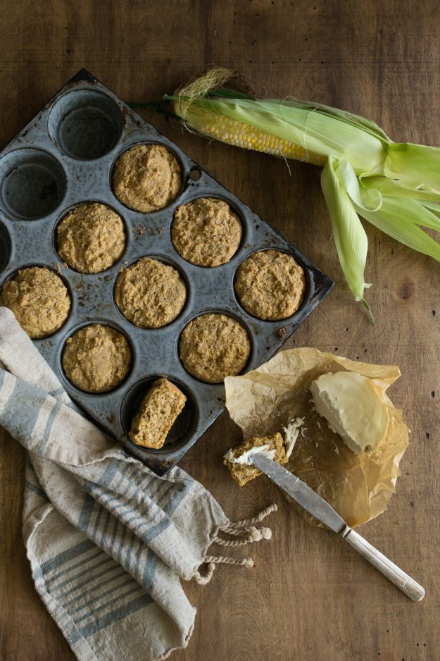 Vegan Cornbread from Mobile to Mumbai Photo by Annie Oliverio