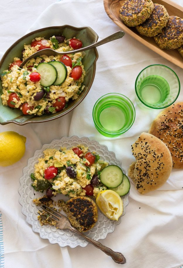 Gluten-free, Oil-free Warm Millet Salad by An Unrefined Vegan