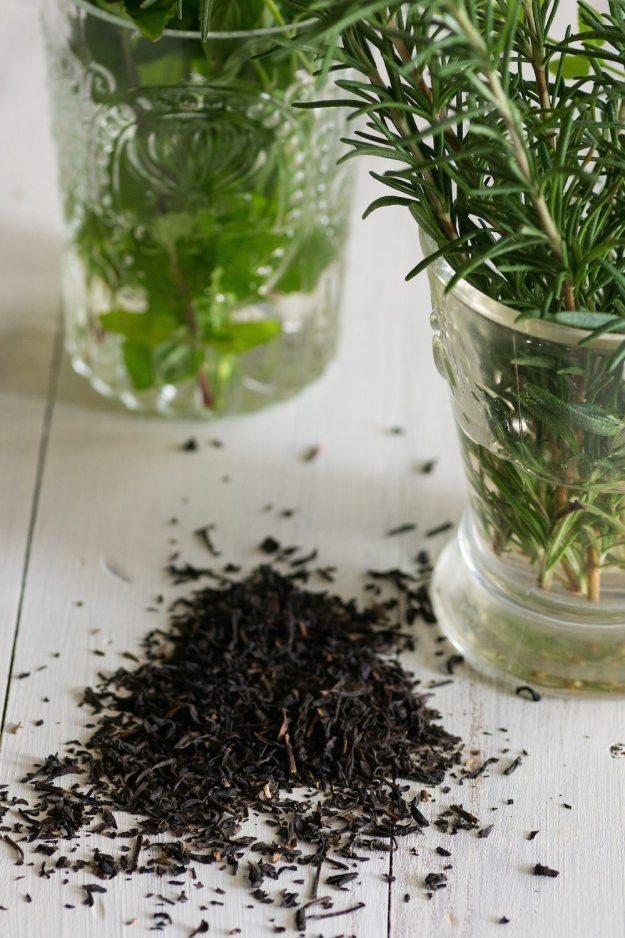 Rosemary and Mint Kombucha by An Unrefined Vegan