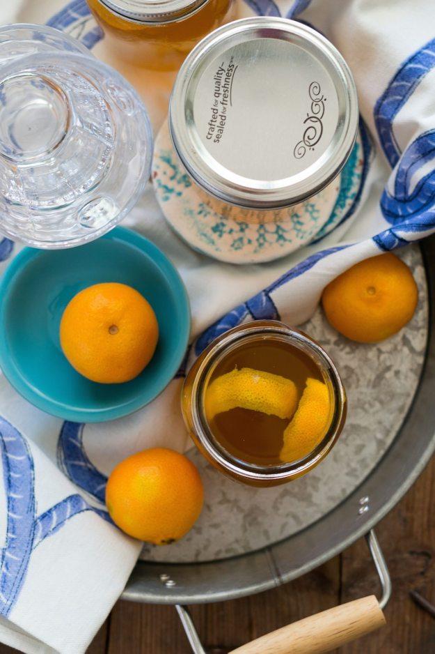 Citrus Hops Kombucha by An Unrefined Veg