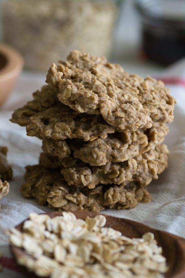 Oil-free Maple Oat Cookies by An Unrefined Vegan
