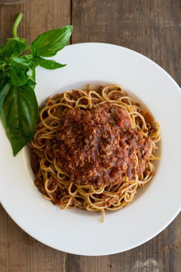 TVP Ground Beef Pasta from It's Got To Taste Good!