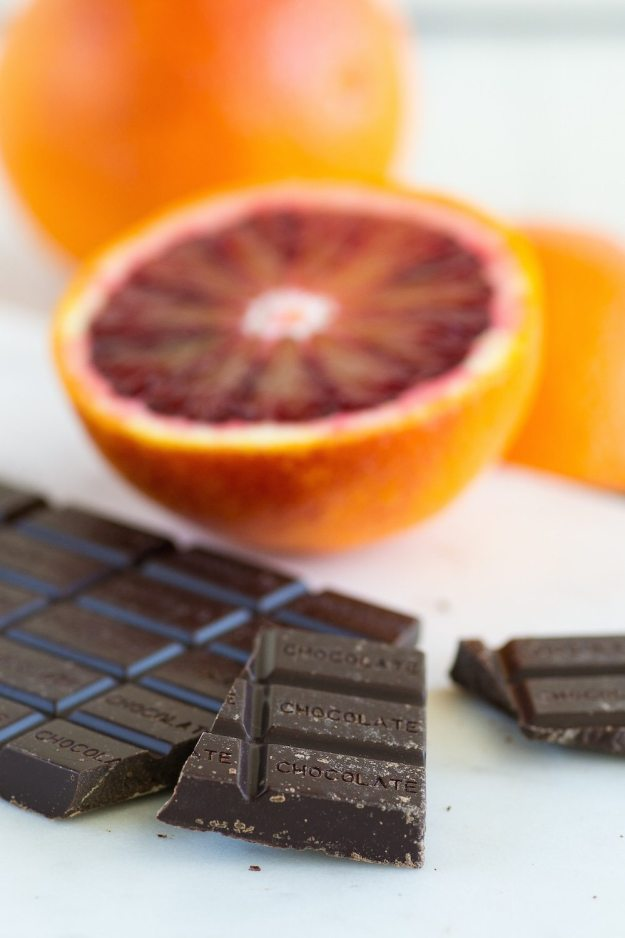 Lilys Sweets Blood Orange Orange Chocolate Bar