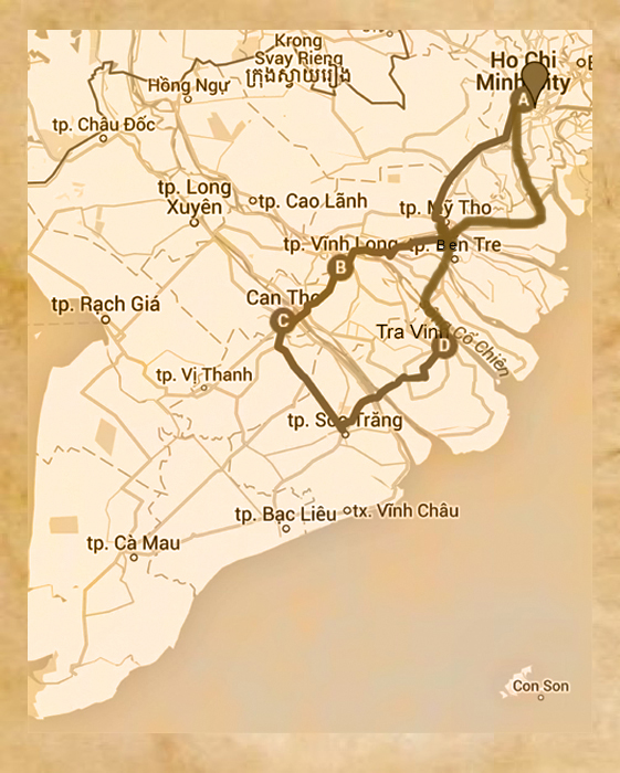carte sud