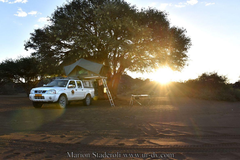 4X4 camping Namibie