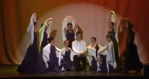 Representación de baile