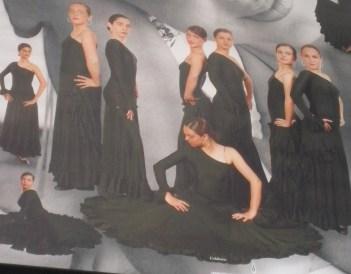 Grupo de baile de Araceli Hidalgo