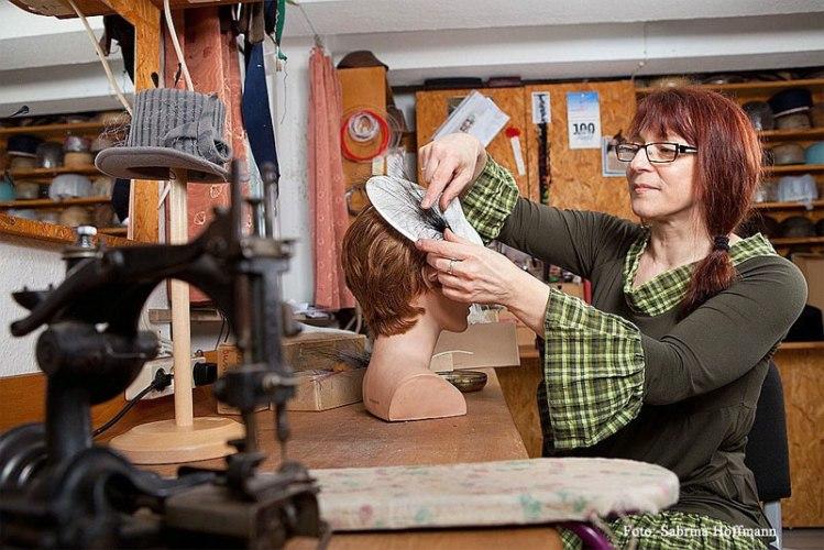 Kreatives Handwerk: Bea Kahl, Hutmacherin