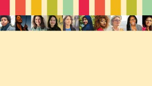 spectrum of colors and unique women