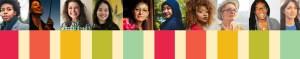photos of unique women muted color spectrum below